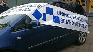 seized car by the police