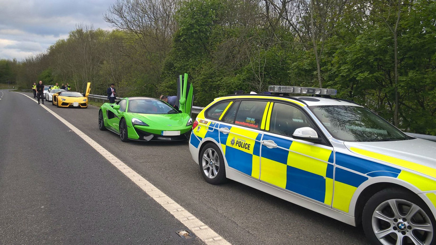 Impounded Supercars